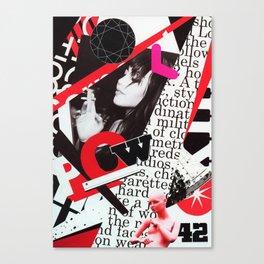 Pow 42 Canvas Print