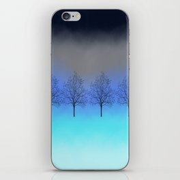 Abstract trees iPhone Skin