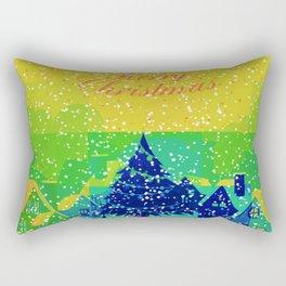 Christmas Greetings Rectangular Pillow