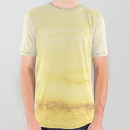 WITHIN THE TIDES - SUNNY YELLOW All Over Graphic Tee