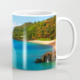 Waimea Bay ... By LadyShalene Coffee Mug