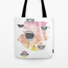 mouths Tote Bag