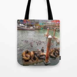 The Sea Lion Spot Tote Bag