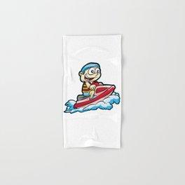 JET SKI Son Boy Present Water Wave Holiday gift Hand & Bath Towel