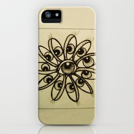 Eye Flower iPhone Case