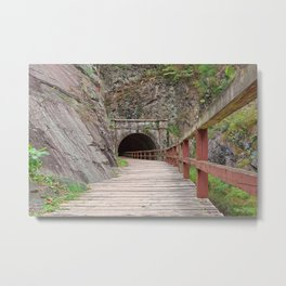 Paw Paw Tunnel Metal Print