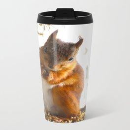Mommy Squirrel  Travel Mug