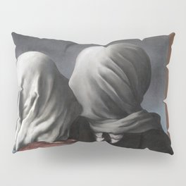 The Lovers II (Les Amants) 1928, Artwork Rene Magritte For Prints, Posters, Shirts, Bags Men Women K Pillow Sham