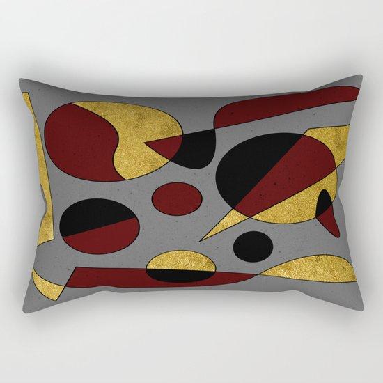Abstract #132 Rectangular Pillow