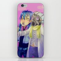 dmmd iPhone & iPod Skins featuring Watch out! Clear and Aoba by Mottinthepot