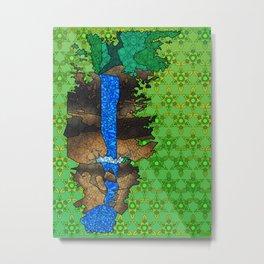Munising Falls Metal Print