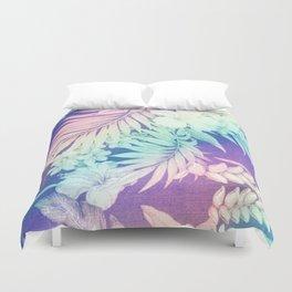 Happy Aloha Rainbow Duvet Cover