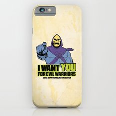 Skeletor - We want you for evil warriors iPhone 6s Slim Case