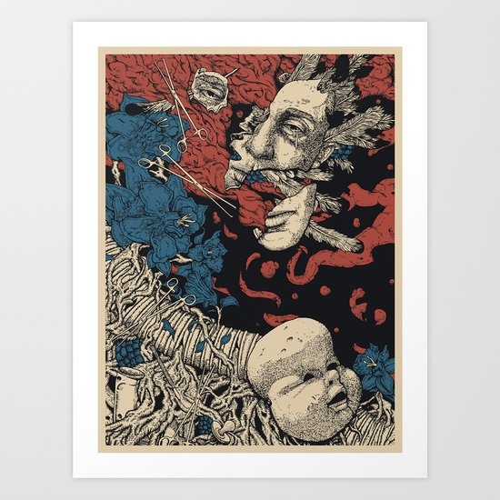 Sweet Lobotomy Art Print
