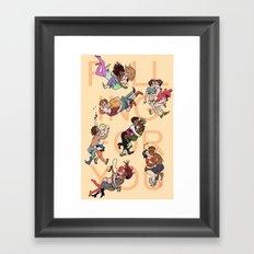 Falling For You Framed Art Print