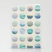polka dot Stationery Cards featuring Ocean Polka dot  by Pure Nature Photos