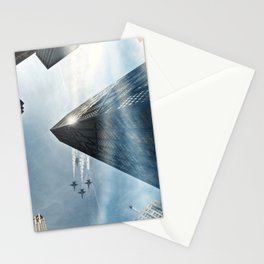Blue Angels Over Hancock Stationery Cards