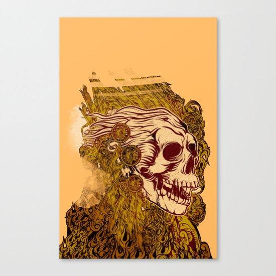 SKULLION Canvas Print