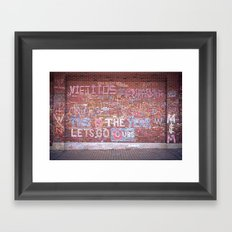 This is the Year - Wrigley Wall Framed Art Print