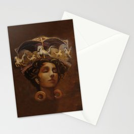 Brass Ring Dream Stationery Cards