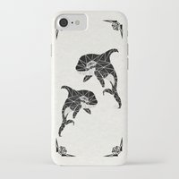 orca iPhone & iPod Cases featuring orca by Manoou