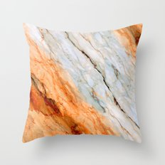 Marble Texture 2B Throw Pillow