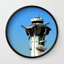 Control Tower Wall Clock