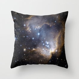 N90, NGC 602 Throw Pillow