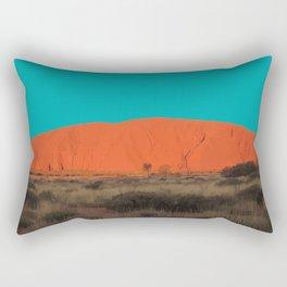 Uluru/Ayers Rock, Australia Travel Artwork Rectangular Pillow