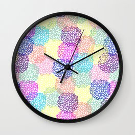 Netball love Wall Clock