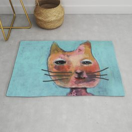 Smelly cat Rug