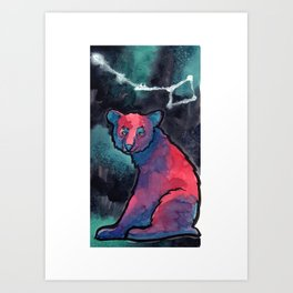 Constellation Ursa Minor Art Print