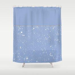 XVI - Blue 1 Shower Curtain