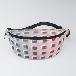 Coloring the Grid Fanny Pack