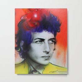 'Dylan' Metal Print