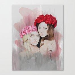 Two Peas Canvas Print