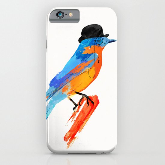 Lord Birdy iPhone & iPod Case