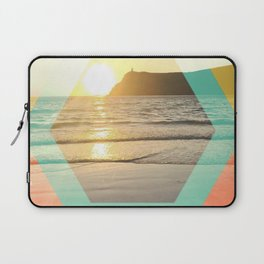 Port Erin - color graphic Laptop Sleeve