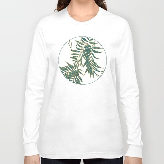 Fire Leaves Long Sleeve T-shirt