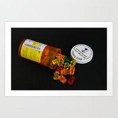 Sugar Pills Art Print