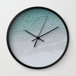 seashore v / italy Wall Clock