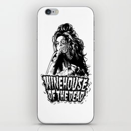 Winehouse of the dead iPhone Skin