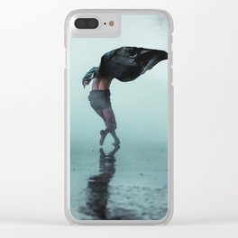 Dance wind Clear iPhone Case