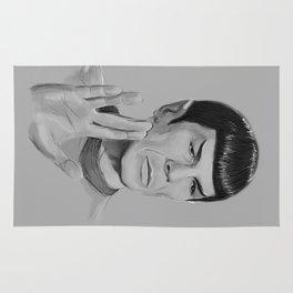 Spock Portrait Star Trek Rug