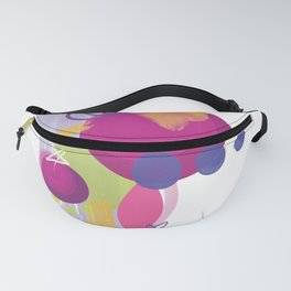 Plated Pink Food Fanny Pack