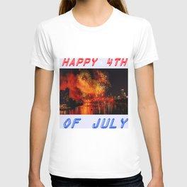HAPPY BIRTHDAY, USA T-shirt