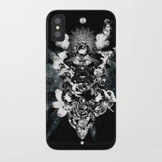 Orchids & Diamonds iPhone X Slim Case