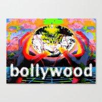 cyberpunk Canvas Prints featuring Bollywood Cyberpunk by BOLLYWOOD