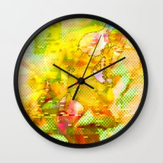 Let Me Check My Calendar < The NO Series (Yellow) Wall Clock