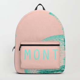 MONTREAL BIOSPHERE PINK Backpack